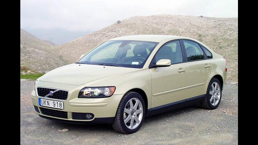Volvo S40 und V50: Rußpartikelfilter für 600 Euro Aufpreis