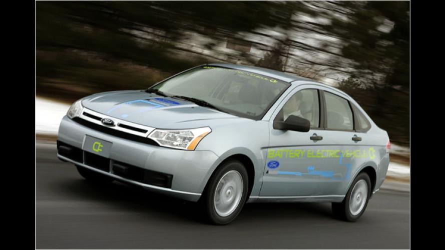 Fords Elektroautos: Getarnt fahren sie bereits auf der Straße