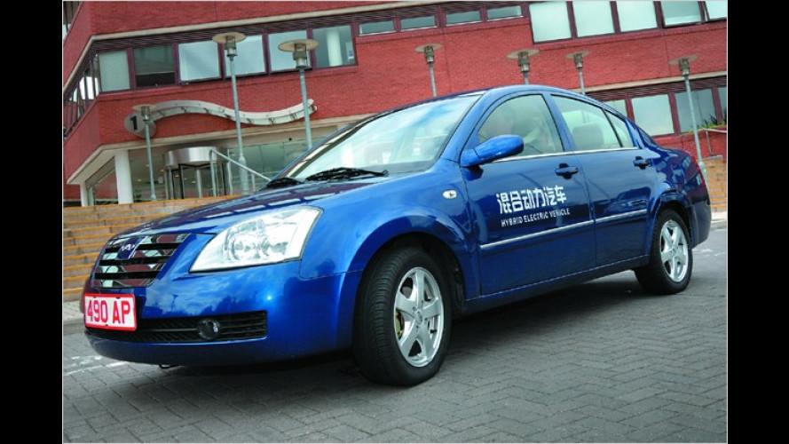 Hybridfahrzeuge auf Basis des Chery A5 gehen bald in Serie