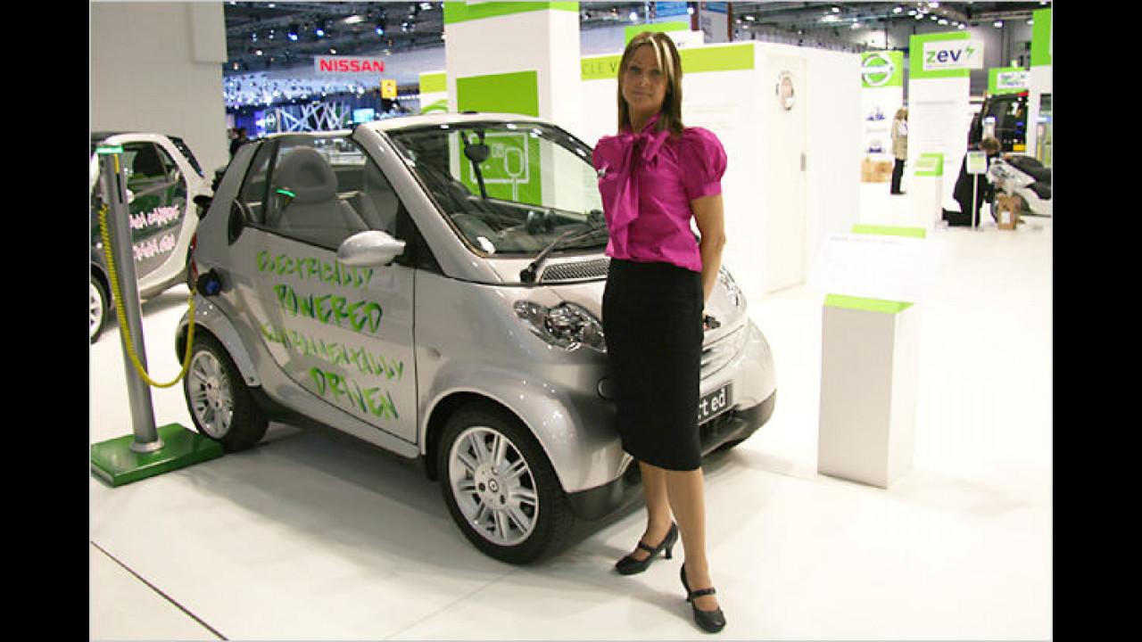 Das kleinste Cabrio und dann noch mit Stromanschluss, wer kann da mithalten?