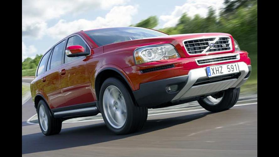 Straffe Hufe für den Elch: Volvo XC90 Sport für Spaß im SUV