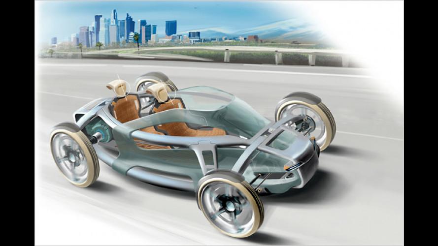 Der Spurenwandler: Toyotas Renewable Lifestyle Vehicle