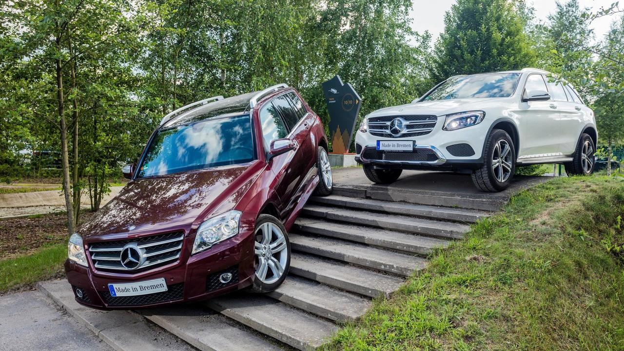 Mercedes GLK / GLC sales milestone