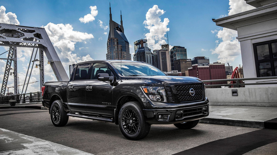 Nissan Titan And Frontier Midnight Edition