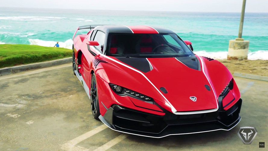 La Italdesign Zerouno s'exhibe en Californie