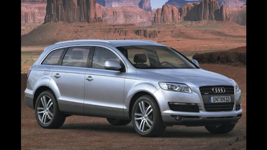 Audi: Neuer Sechszylinder mit 260 PS für den Q7 erhältlich