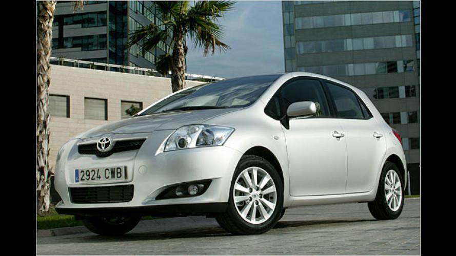 Toyota stellt den ab März 2007 erhältlichen Auris vor