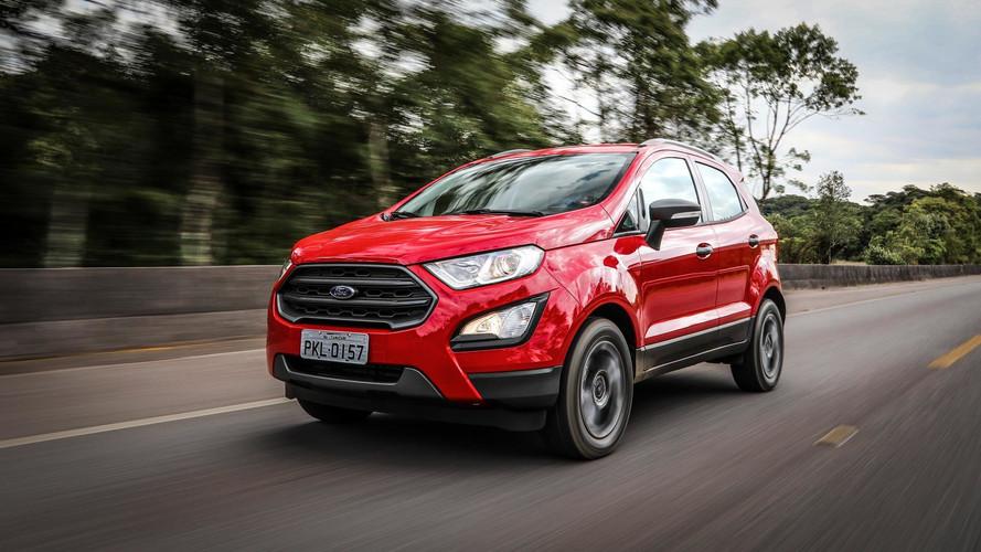 Ford reduz preços de EcoSport, Ka e Ka Sedan em até R$ 2,1 mil