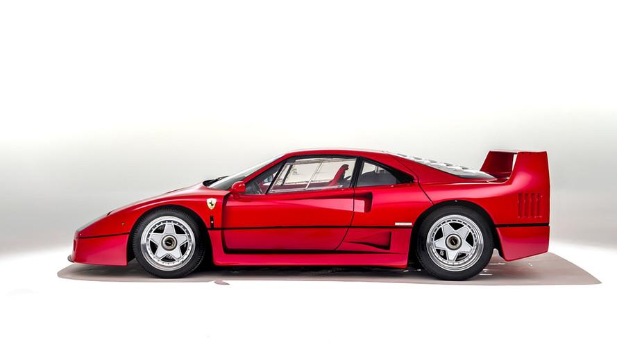10 choses que vous ignorez sur la Ferrari F40