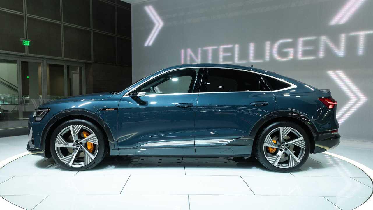 Audi E-Tron Sportback Live Image