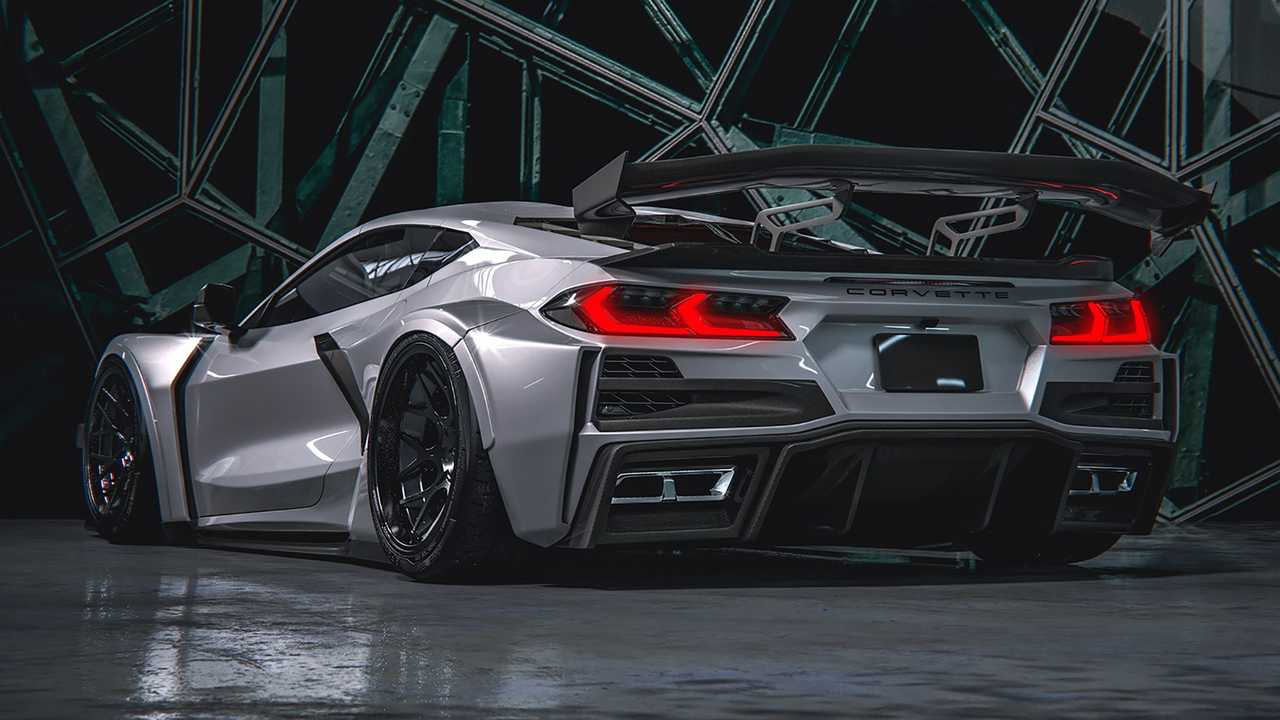 2020 Chevy Corvette Widebody Rendering By HugoSilva ...