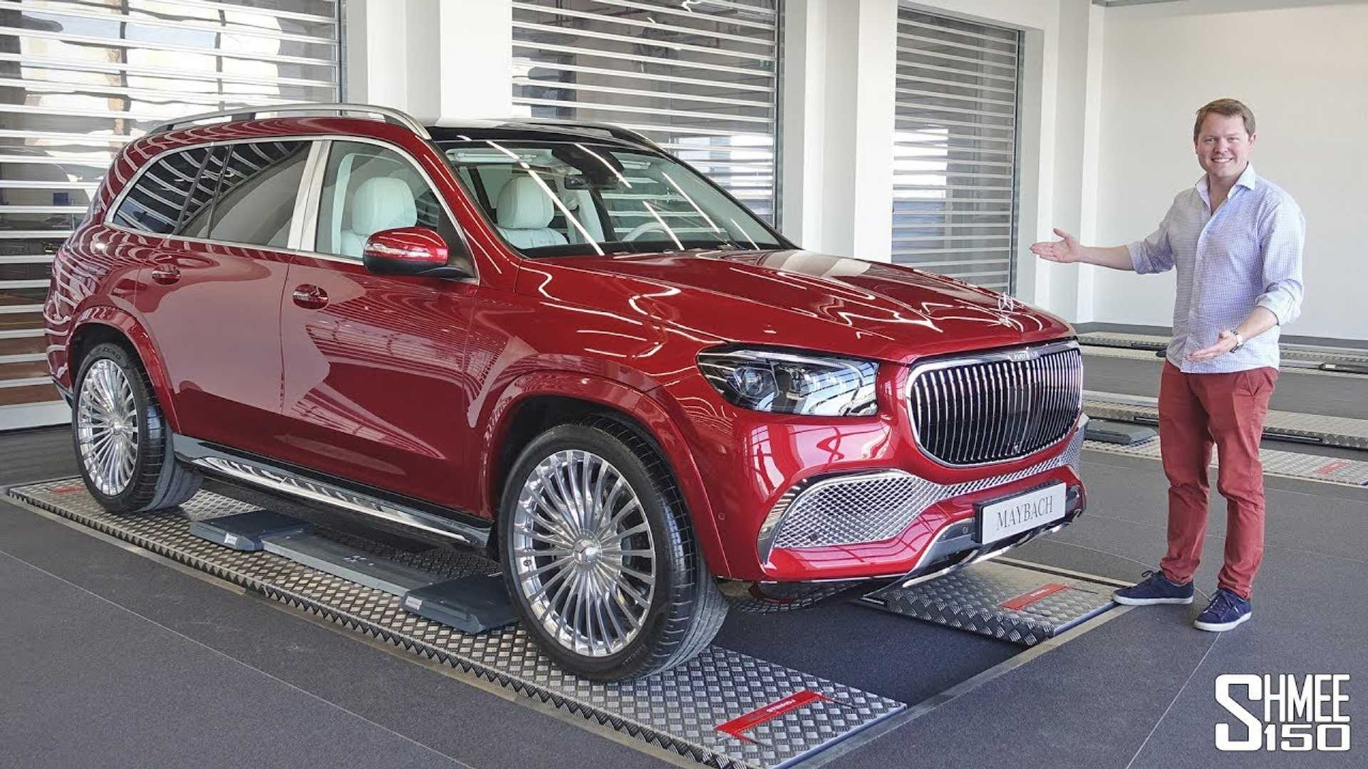 Spend nearly 20 minutes with the Mercedes-Maybach GLS