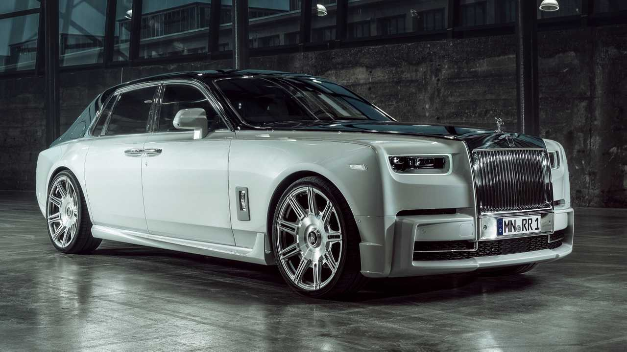 Rolls Royce Phantom Gets Giant Wheels And Power Bump From Tuner