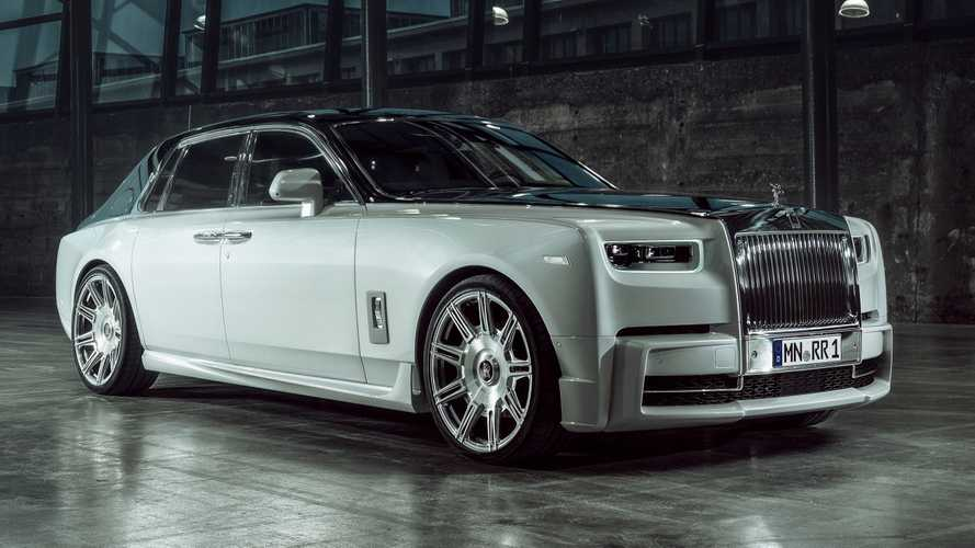 Rolls-Royce Phantom gets giant wheels and power bump from tuner