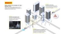 Pirelli Cyber: Dieser Reifen meldet Aquaplaning