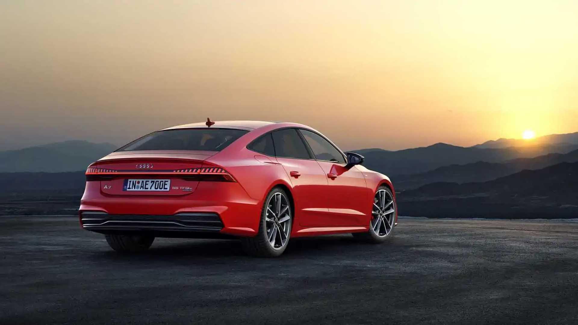 2020 Audi A7 Sportback E Quattro PHEV Debuts With 25-Mile ...