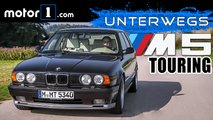 video bmw e34 m5 touring legende im test
