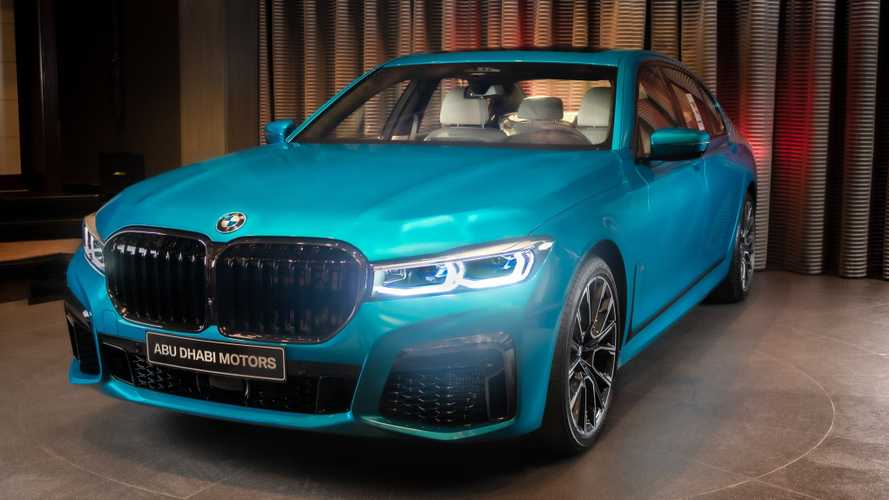 2020 BMW M760Li xDrive Atlantis Blue