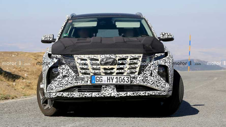 2021 Hyundai Tucson Newest Spy Photos