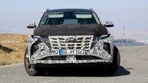 Hyundai Tucson 2021 - Novos flagras