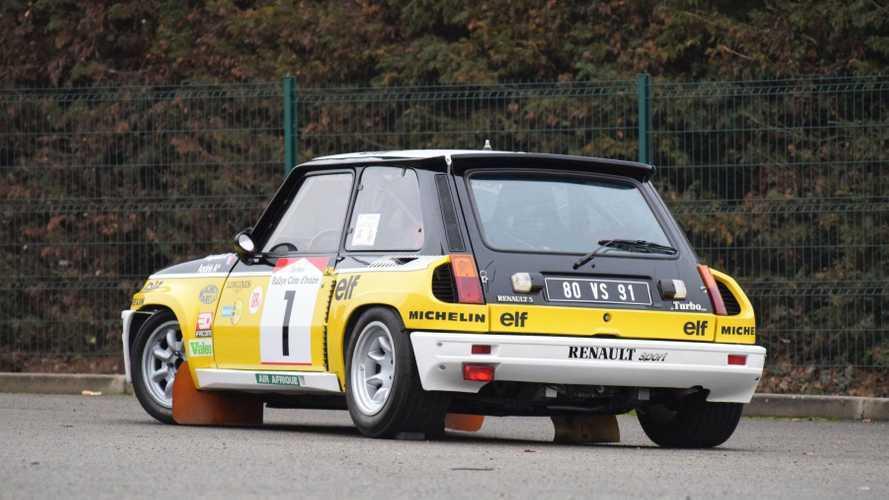 Este Renault 5 Turbo, de Jean Ragnotti, se vendió por 322.000 euros