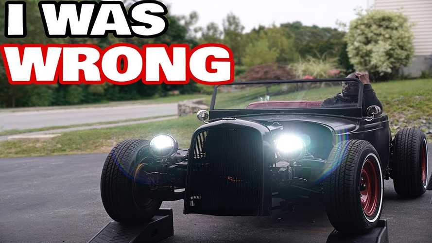 Rich Rebuilds Has A Hard Time With Brakes On Electric Rat Rod