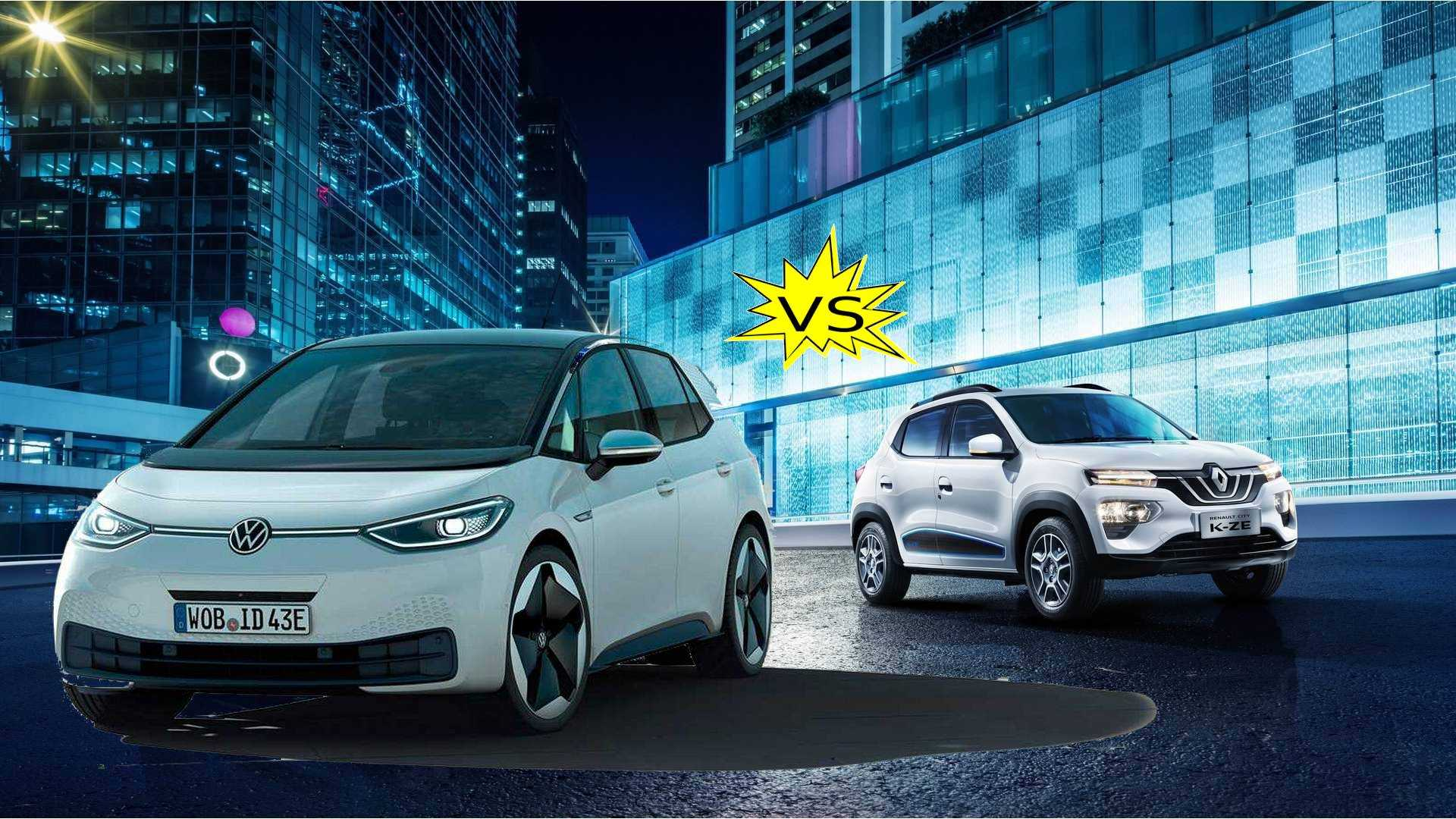 Which Is The True Electric Car For All: The VW ID.3 Or Renault K-ZE?