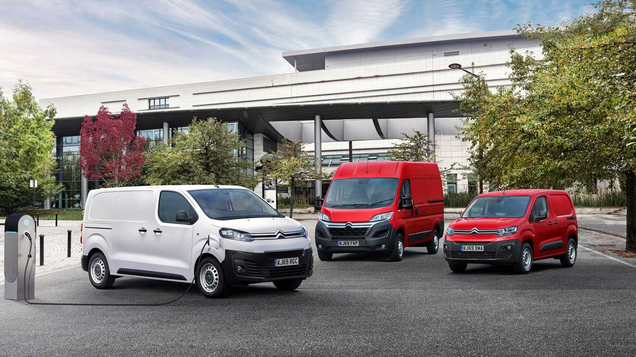 Citroën launches an electric offensive on its LCV range