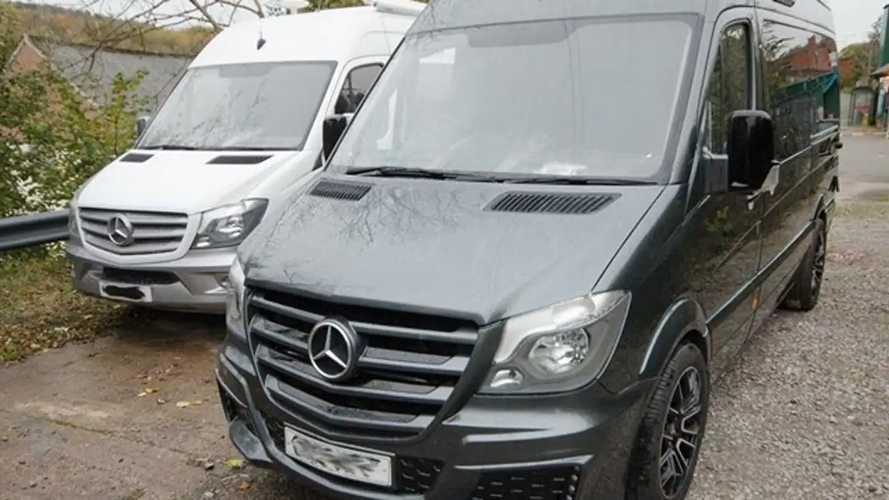 Mercedes Sprinter camper by Hunter Sport Homes