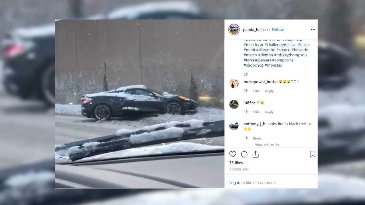 C8 Corvette Snow Crash