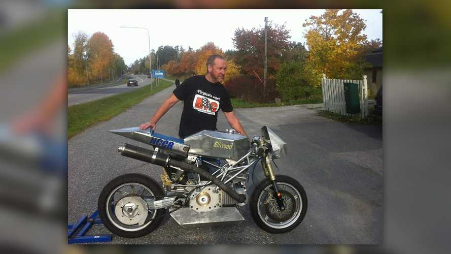 John Ellwood Is Back With His Crazy Hybrid Motorcycle Engine
