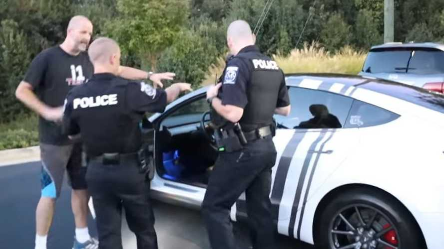 Tesla Smart Summon And The Police: Nothing Staged Here