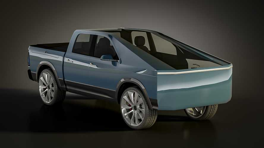 New Tesla Truck Render Features RamBox, No Frunk, Tons Of Glass