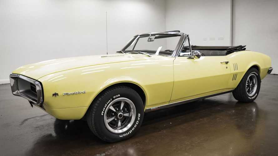 Drive Away In A Rare 1967 Pontiac Firebird Sprint