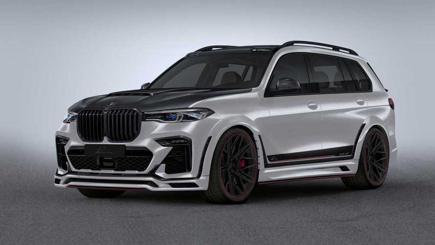 Lumma CLR X7: Tuner macht das XXL-SUV von BMW noch breiter