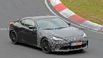 Subaru BRZ Facelift Spy Shots