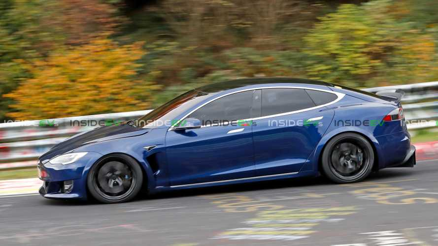 Tesla Model S Plaid at Nuburgring beats Taycan by 29 seconds