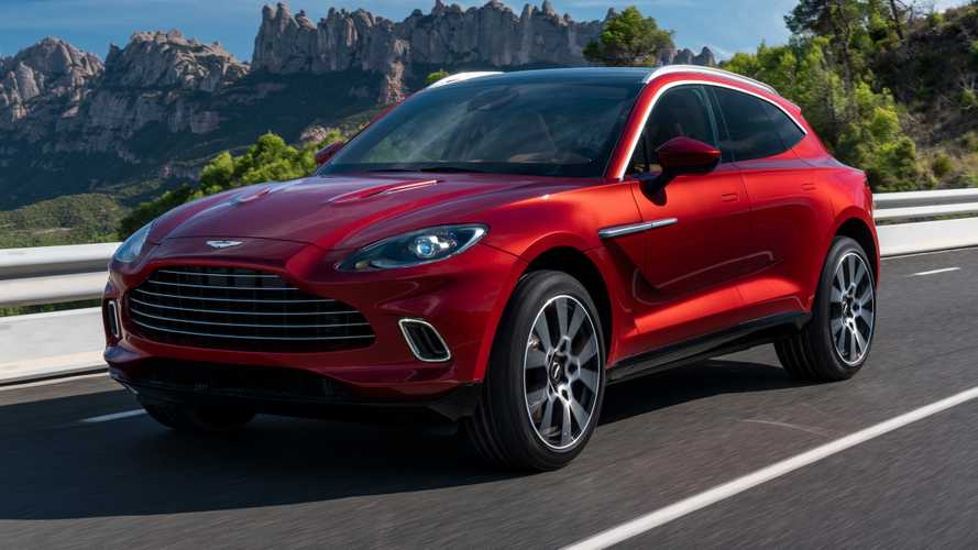 2021 Aston Martin DBX debuts with 542-bhp V8, £158,000 starting price
