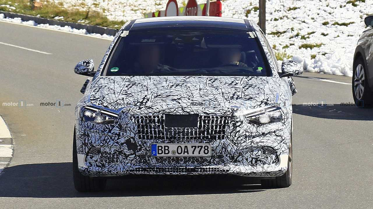 2021 Mercedes-Maybach S-Class new spy photo