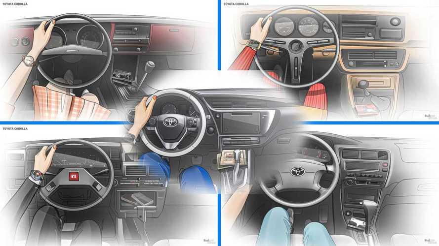 Toyota Corolla: как эволюционировал интерьер популярной «японки»