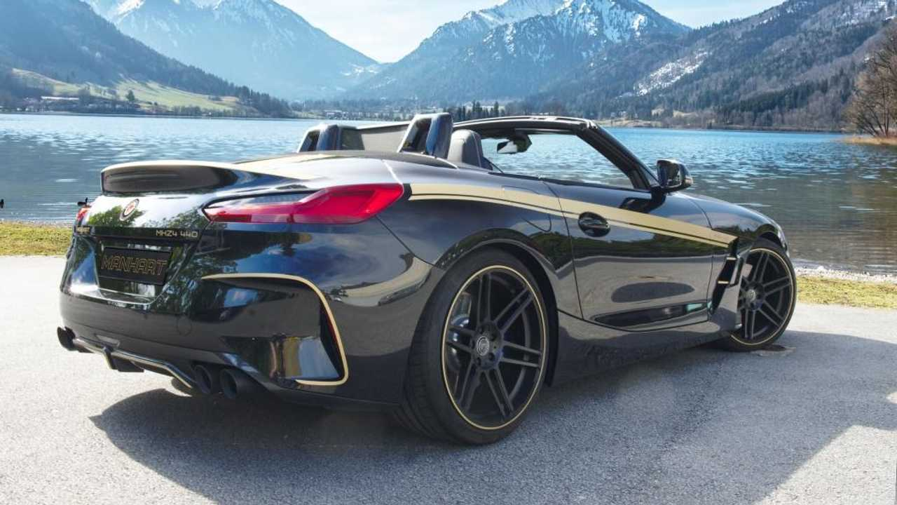 Bmw Z4 M40i By Manhart Sounds Brutal