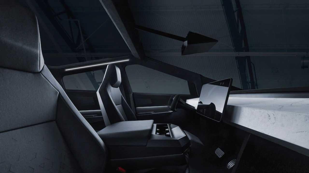 Tesla Cybertruck Outdoor Image