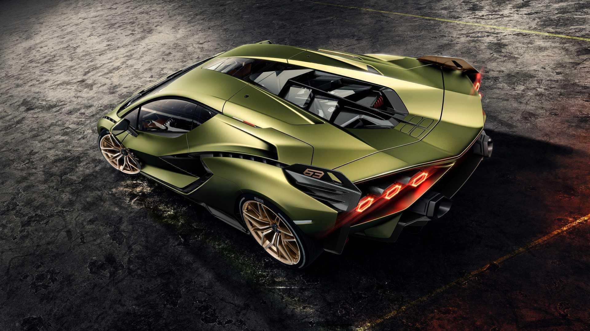 Lamborghini Sian Debuts As Brand\u0027s First Electrified
