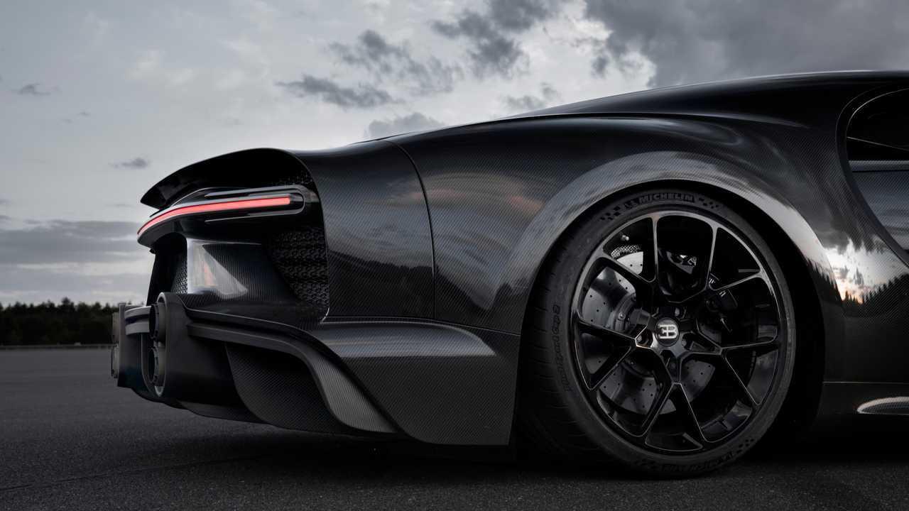 Bugatti Chiron Sport built for top speed run