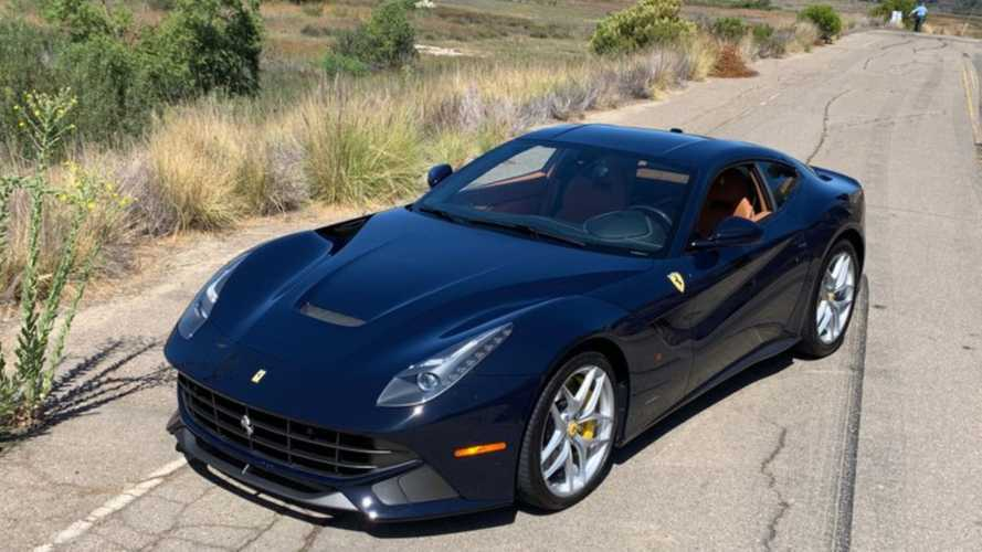 Command The Power Of A 2016 Ferrari F12 Berlinetta