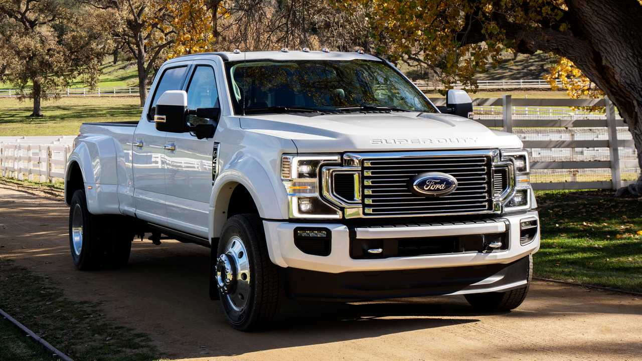 F350 Towing Capacity >> 2020 Ford F Series Super Duty Can Tow Up To 37 000 Pounds