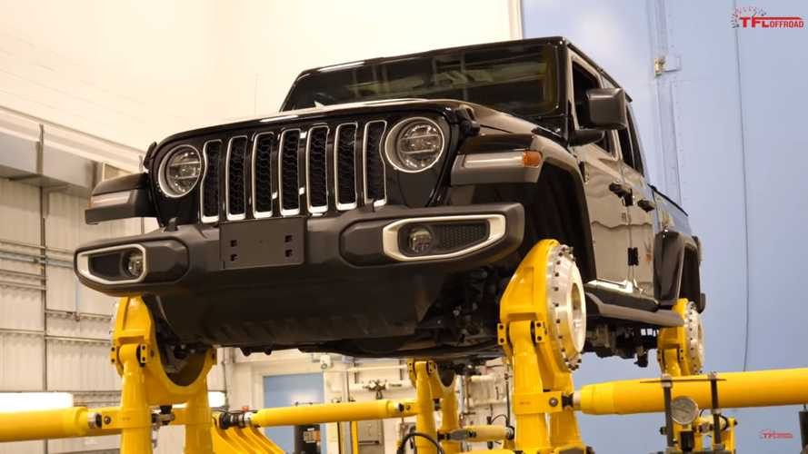 See Jeep Abuse A Gladiator To Prove The Truck's Durability