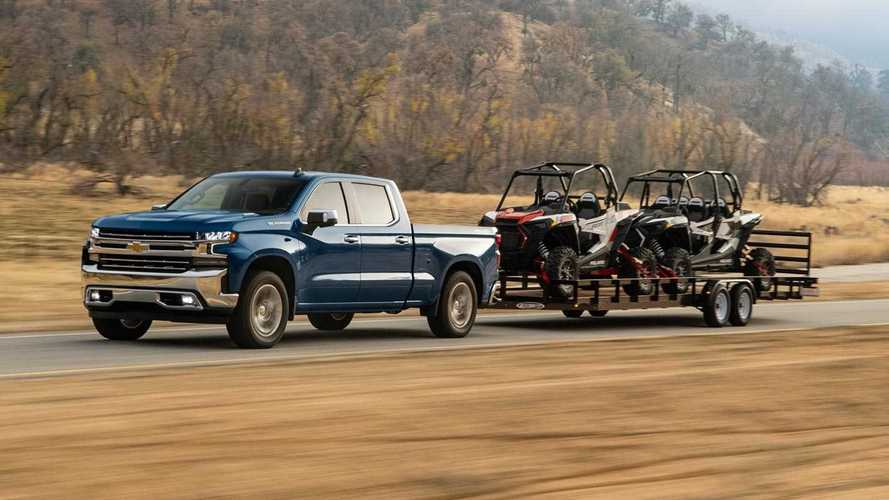 Silverado, Sierra Diesel Trucks May Get Tow Rating Increase
