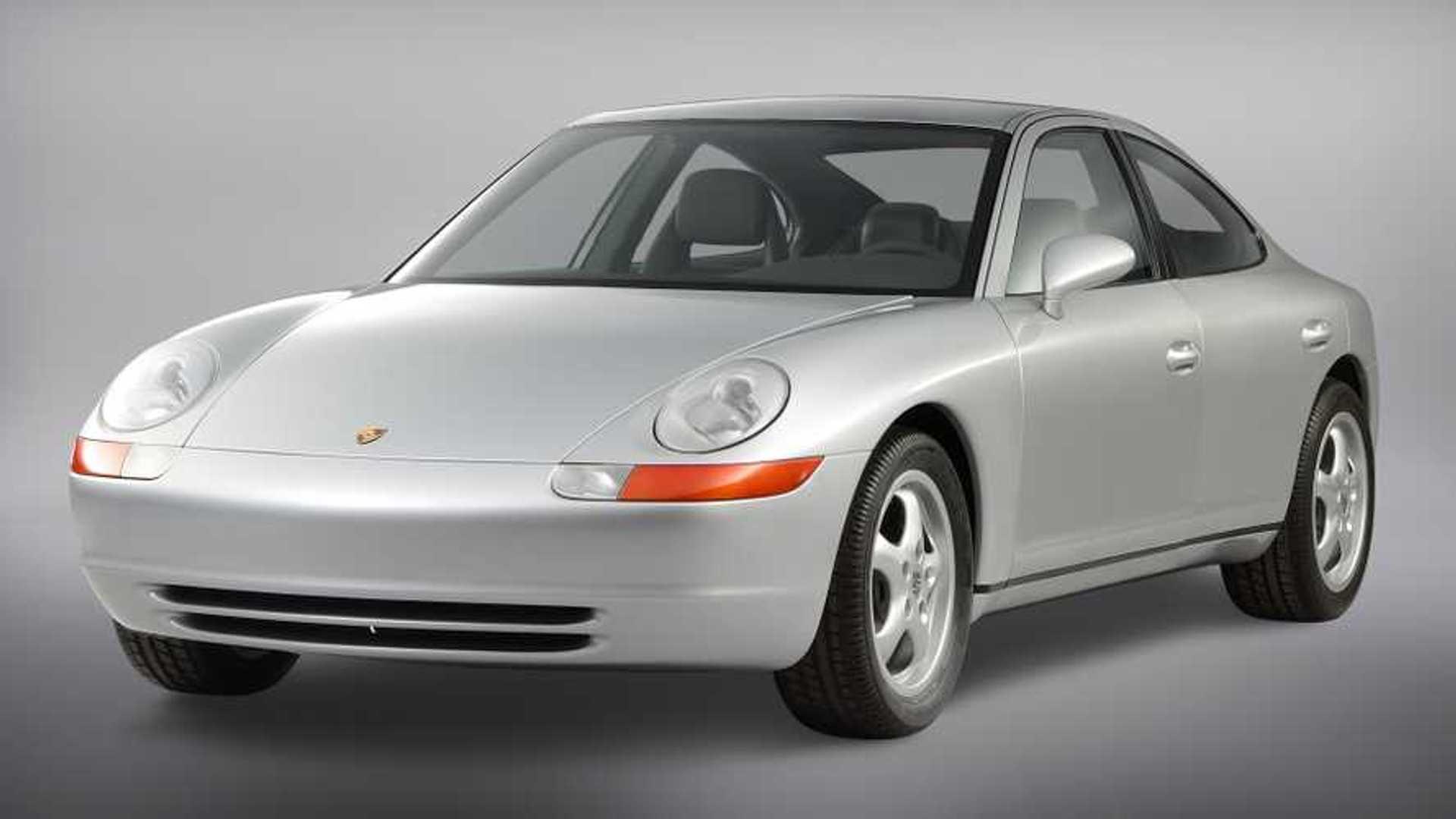 Porsche: Viersitzer-Konzepte aus sieben Jahrzehnten