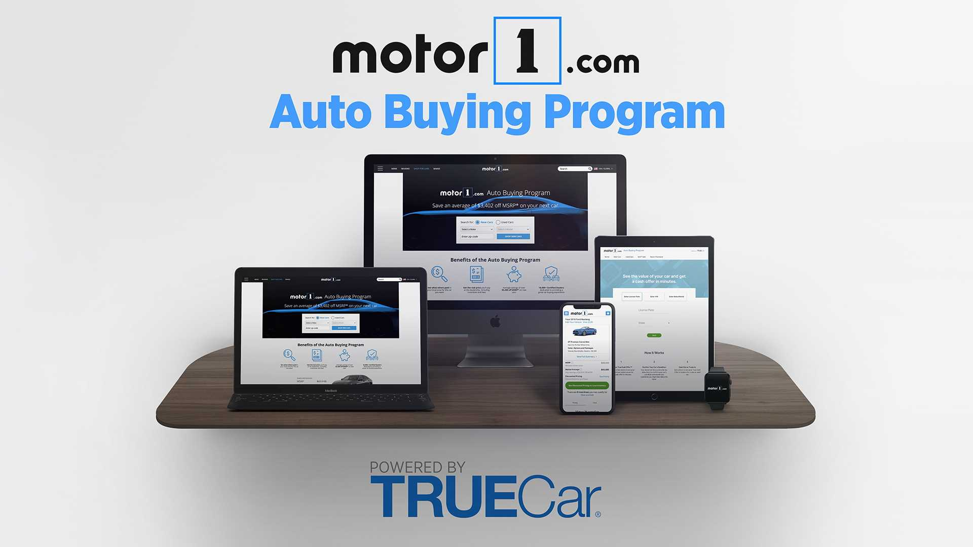 Motor1.com And TrueCar Partner To Launch New Auto Buying Program